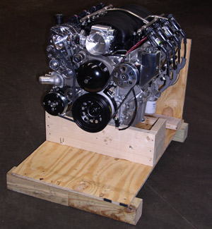 LS ENGINE IN CRATE